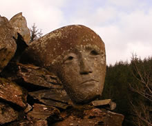 Sculptures in The Galloway Forest Park
